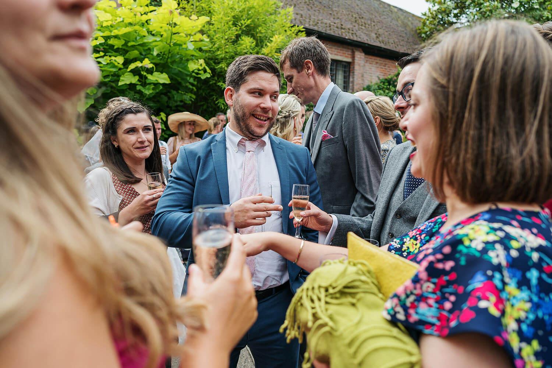 outdoor wedding reception surrey