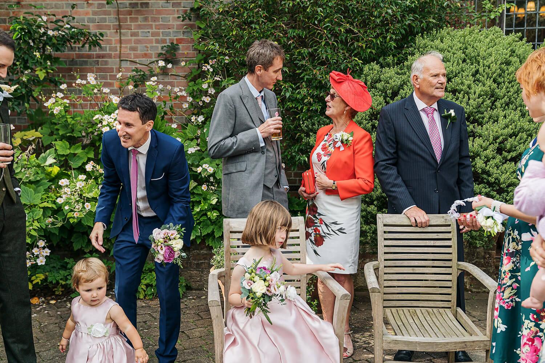 ramster hall wedding garden