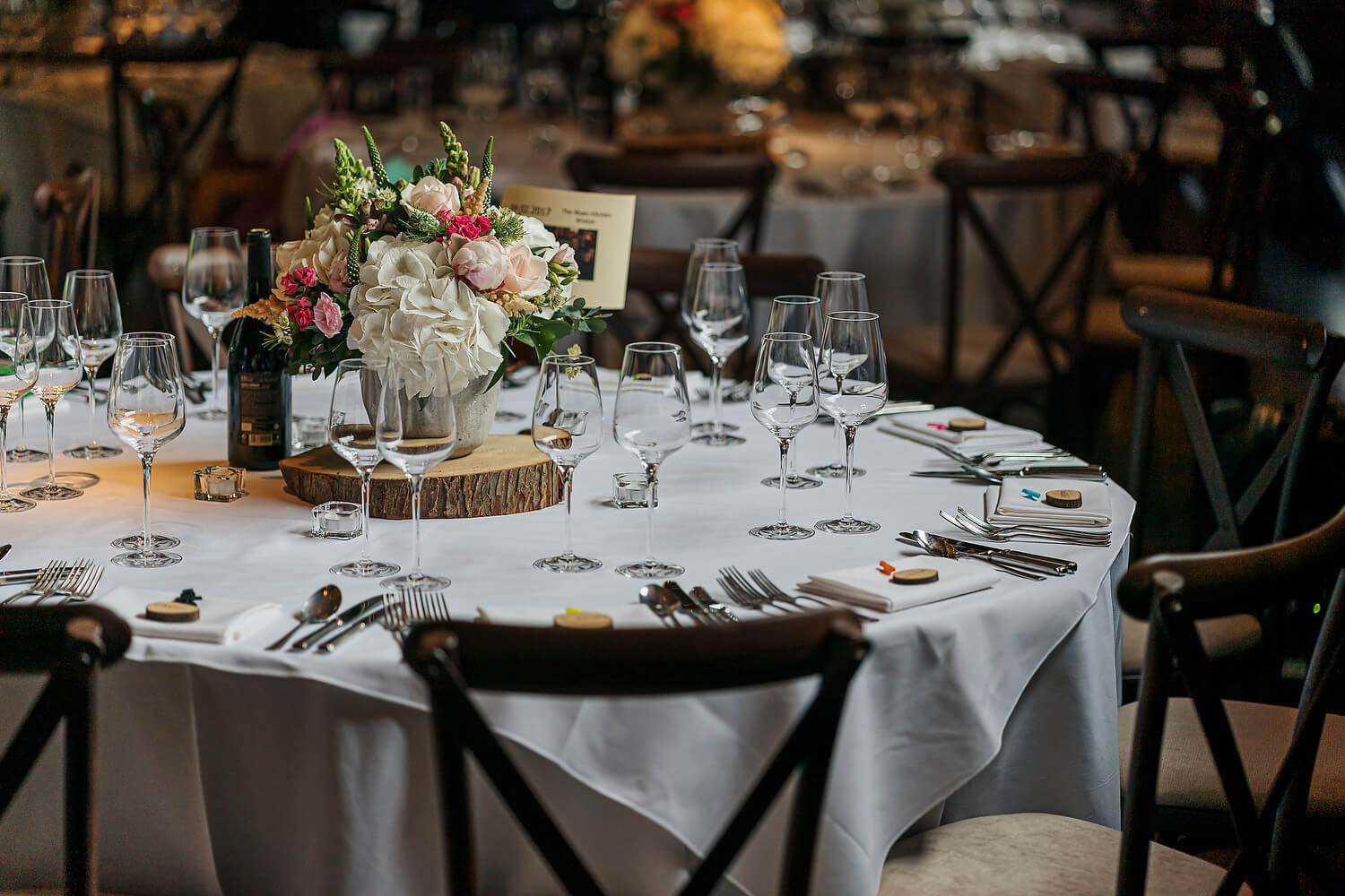 ramster hall wedding table