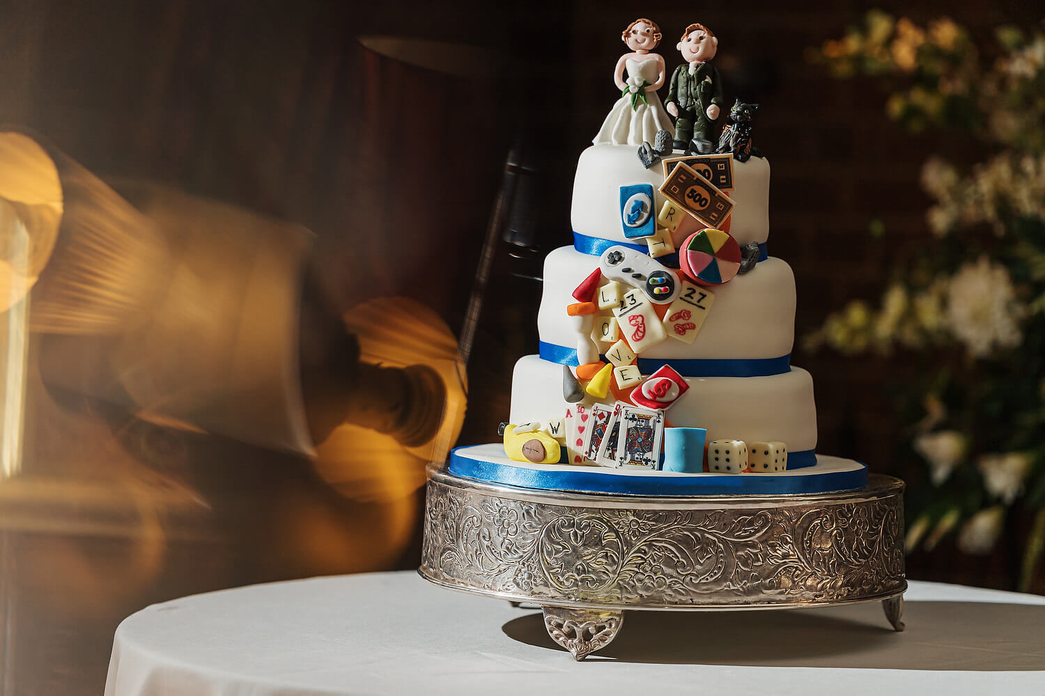 ramster hall wedding cake