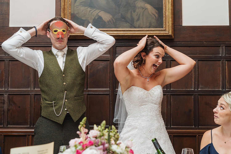 ramster hall wedding reception