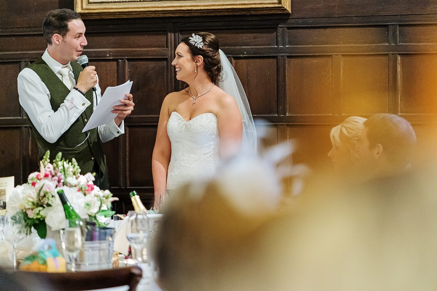 ramster hall wedding speeches