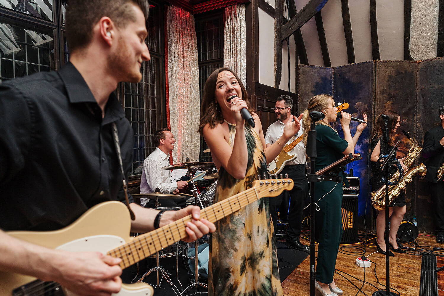 live wedding band ramster hall