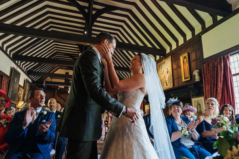 wedding ceremony ramster hall