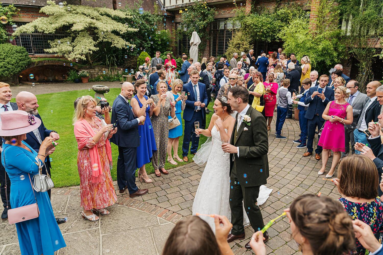 wedding at surrey venue