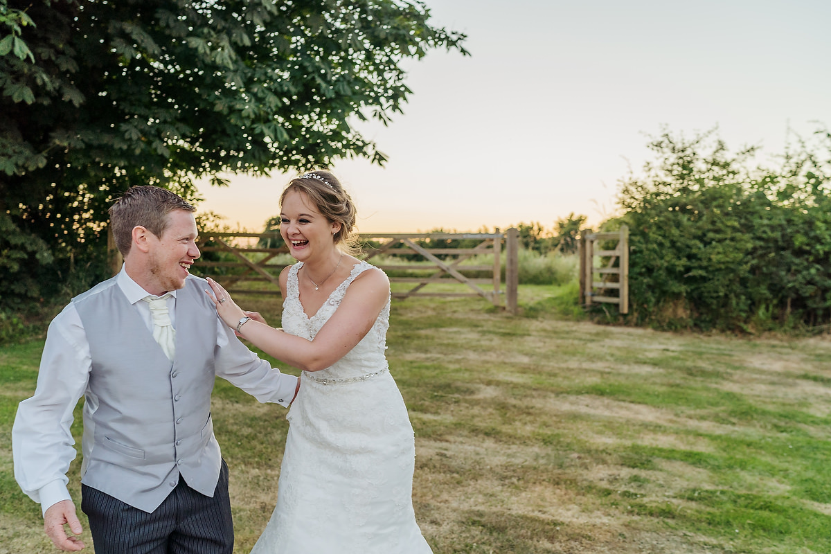 couple at southend barns in chichester